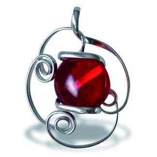 Colgante de Caramelo Rojo