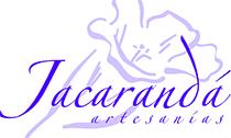 Logotipo Jacarandá Artesanías contorno pequeño