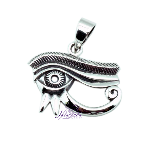 Colgante de Plata Amuleto del Ojo de Horus