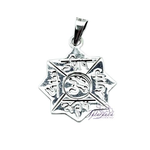 Colgante de Plata Estrella Amuletos
