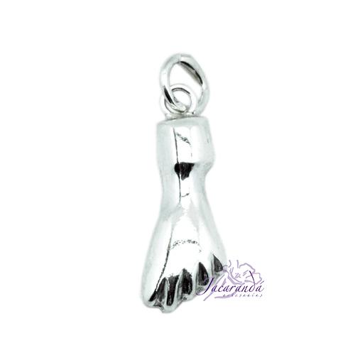 Colgante de Plata Amuleto de Manito Protectora