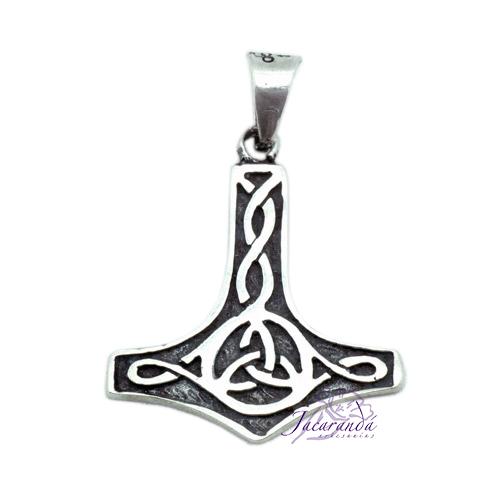Colgante de Plata Martillo de Thor