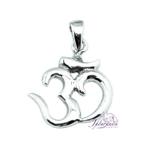 Colgante de Plata Amuleto del OM