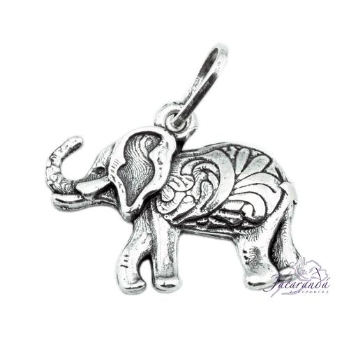 Colgante de Plata Elefante