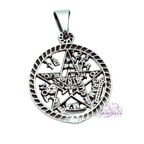 Colgante de Plata 925 Tetragramaton