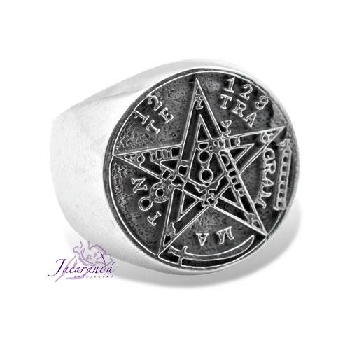 Anillo Símbolo Tetragrammatron sello