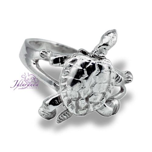 Anillo de Plata Tortuga articulada 19 mm