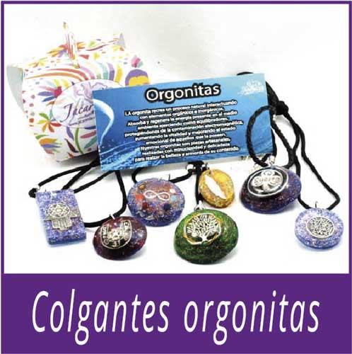 Colgantes de Orgonitas
