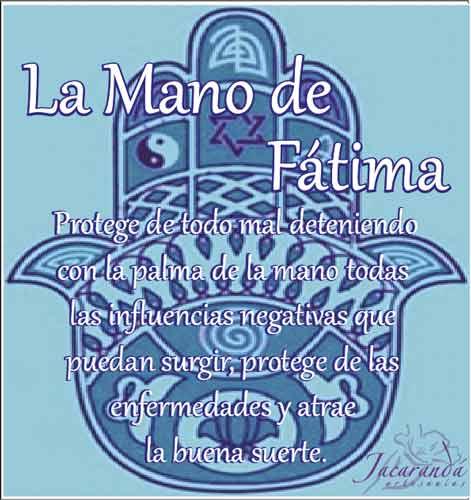 Símbolo Mano de Fátima