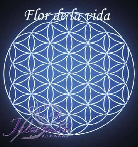 Tarjeta significado Flor de la vida
