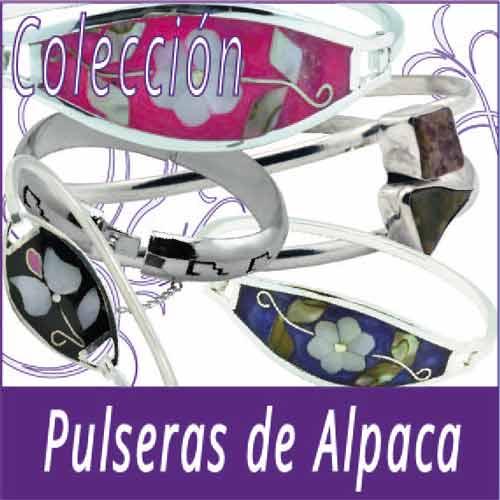 Colección Pulseras de Alpaca
