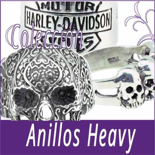 Anillos Heavy Calavera