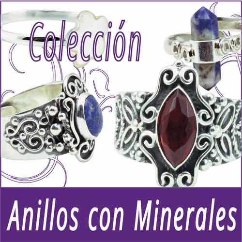 Anillos Piedras-Minerales