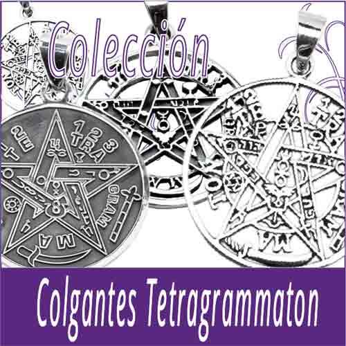 Colgantes de plata Tetragrammaton