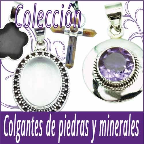 Colgantes de plata 925 Piedras y Minerales