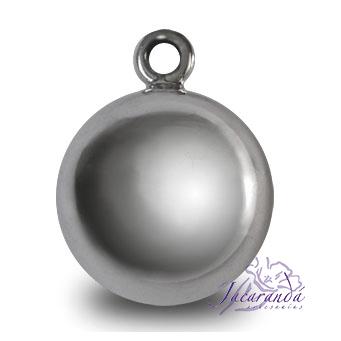 Llamador de ángeles plata 925 lisa