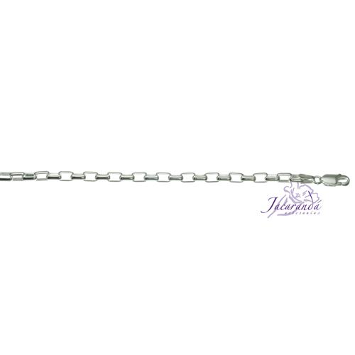 Cadena de Plata 925 Rolo cuadrada 40 cm
