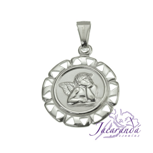 Colgante de plata 925 diseño Ángel de Rafael