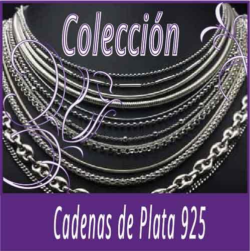 Cadenas de plata 925