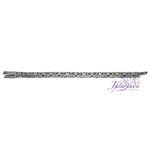 Pulsera de Plata 925 diseño Snake trenza Unisex