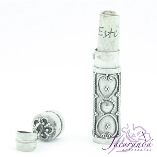 Colgante de plata 925 Cofre de los Sueños y Deseos diseño Arabesco 40 mm