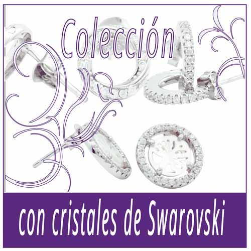 con cristales de Swarovski